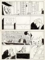 unfinished Comic Art