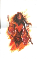 Dark Phoenix By Gabriele Dell'Otto, Comic Art