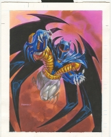 Azrael Batman, Comic Art