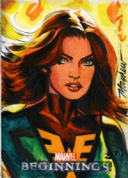 Phoenix by Mike Mayhew, Comic Art