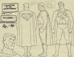 Bizarro Model Sheet Comic Art