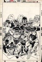 Giant Size X-men 1 Cover Comic Art