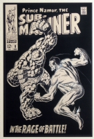 Sub-Mariner 8 Cover Comic Art