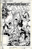 X-men 166 Cover Comic Art