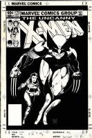 X-men 173 Cover Comic Art