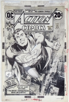 Action Comics 419 Cover Comic Art