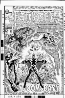 Fantastic Four 59 Comic Art