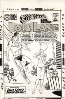 Superman's Girlfriend Lois Lane #27 Cover Comic Art