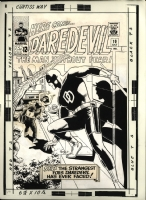 Daredevil 10 Cover Comic Art