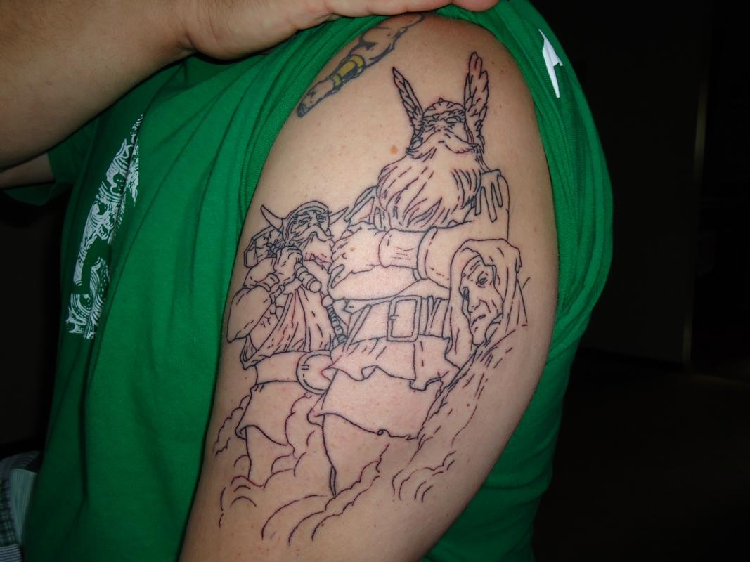 Odin Norse God Tattoo