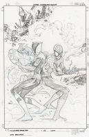Ultimate Spider-man Issue 115 Cover, Comic Art