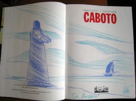 Mattotti - CABOTO - sketch Comic Art
