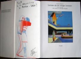 Mattotti - lettere da un tempo lontano - sketch Comic Art