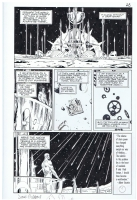 Gibbons - Watchmen 4 end page, Comic Art