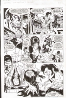 Elvira with Elvis pg10 Comic Art