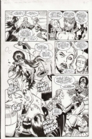 Elvira page Comic Art