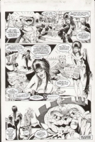 Elvira Holiday Humbug page Comic Art