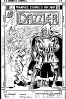Dazzler #3 Cover Art Comic Art