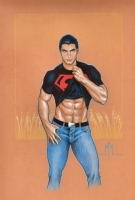 Conner Kent, Superboy Comic Art