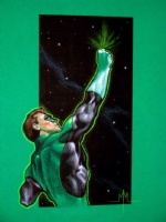 Green Lantern Comic Art