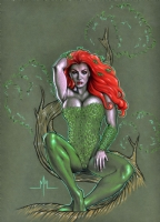 Poison Ivy Comic Art