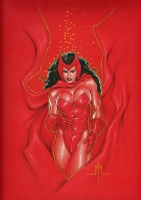 Scarlet Witch Comic Art