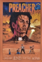 Preacher Cover Recreation Comic Art