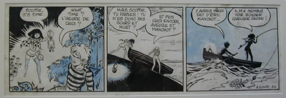 Forest - Hypocrite et le monstre du Loch Ness Comic Art