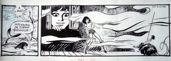 Forest - Hypocrite et le monstre du Loch Ness Comic Art