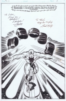 Jack Kirby Silver Surfer pg2 splash w/o stat Comic Art