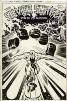 Silver Surfer GN splash by Kirby/Sinnott Comic Art