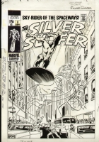 Silver Surfer #8 Cover by Buscema Comic Art