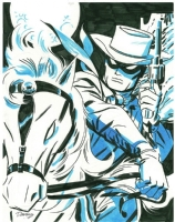 Cooke - Lone Ranger Comic Art