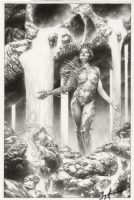 Witchblade 92 cover by Jay Anacleto, Comic Art