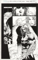 Witchblade #50 page 19 Comic Art