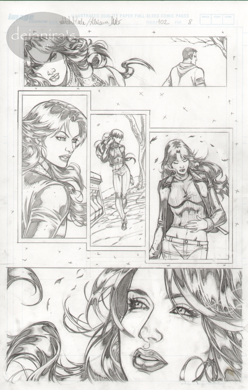 Witchblade #102 page 08 Comic Art