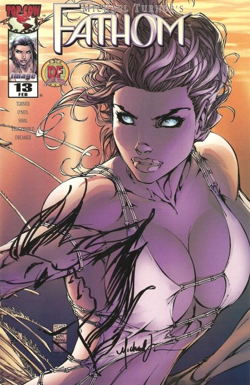 Fathom #13 remarked by Michael Turner Comic Art