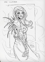 Witchblade Sara Pezzini by Brian Ching Comic Art