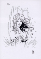 Poison Ivy by Giuseppe Camuncoli Comic Art