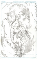 Tomb Raider by Kevin Sharpe Comic Art