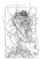 Witchblade: Sara Pezzini & Ian Nottingham Comic Art