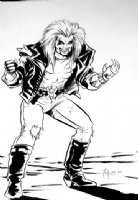 Joe Phillips - Lobo sketch Comic Art