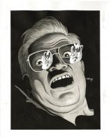 Russ Heath - Sin City: Hell and Back #1 Splash Page Original Art (Dark Horse, 1999) Comic Art