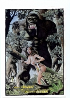 Budd Root Bigfoot & Meriem Comic Art