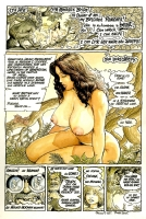 Cavewoman  Heavy Metal Mag  Comic Art