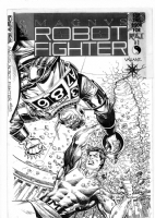 Magnus Robot Fighter #5 Comic Art