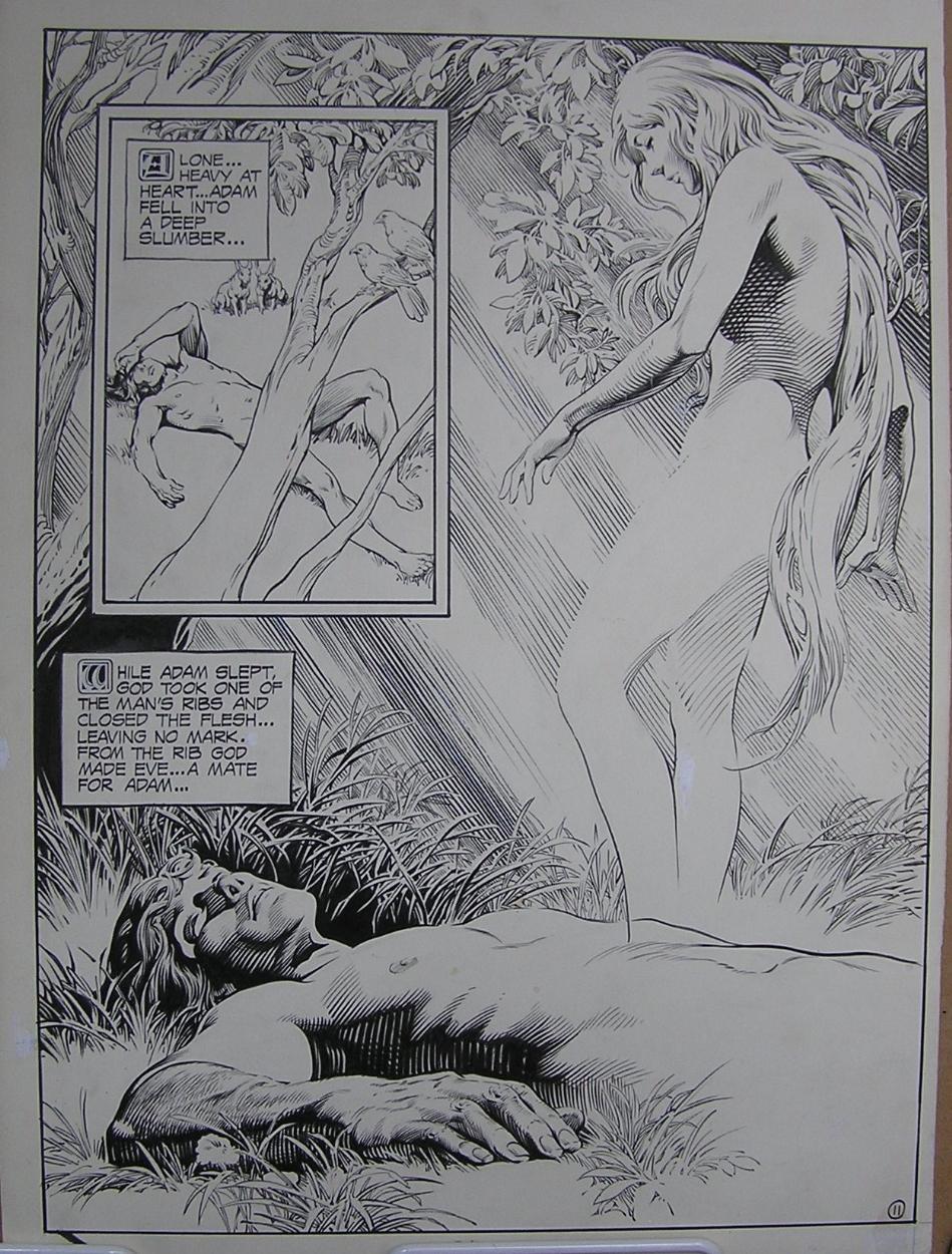Page 11 Comic Art