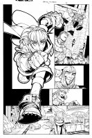 Joe Mad BATTLE CHASERS Comic Art