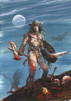 BWS Conan unpublished cover Comic Art