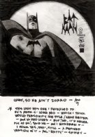 Alex Toth BATMAN Comic Art